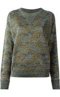 Isabel Marant Camouflage Sweatshirt - Lyst