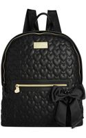 Betsey Johnson Quilted Backpack - Lyst