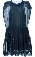 Etoile Isabel Marant Sleeveless Dress - Lyst