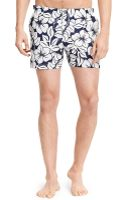 Tommy Hilfiger Swim Trunk - Lyst