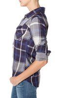 Rails Kendra Button Down Shirt - Lyst