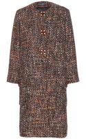 Dolce & Gabbana Tweed Coat - Lyst