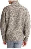 Woolrich Marl Grey Wool Sweater - Lyst