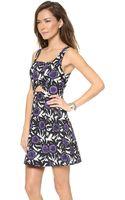Rebecca Minkoff Hawk Dress Multi - Lyst