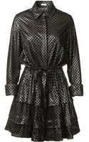 Azzedine Alaïa Black Velvet Dress - Lyst