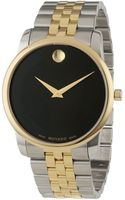 Movado Mens Museum Classic Twotone Watch - Lyst