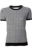 Marni Striped Sweater - Lyst