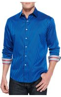 Robert Graham Trinity Stripe Sport Shirt - Lyst
