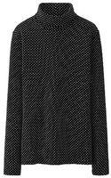 Uniqlo Supima Cotton Polo Neck Long Sleeve T - Lyst