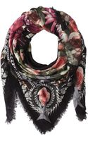 Givenchy Paradise Flowers Silk Wool Scarf - Lyst