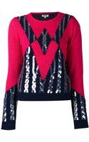 Kenzo Sequin Sweater - Lyst