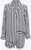 Equipment Lillian Silk Stripe Pajama Set - Lyst