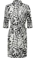 Diane von Furstenberg Prita Printed Shirt Dress - Lyst