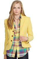 Polo Ralph Lauren Suedeelbowpatch Hacking Jacket - Lyst