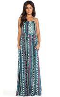 Somedays Lovin Liar Liar Printed Maxi Dress - Lyst