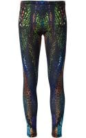 McQ by Alexander McQueen Alligator Print Leggings - Lyst