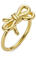C. Wonder Tied Bow Ring - Lyst