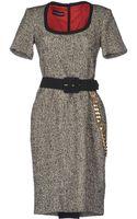 Gio' Guerreri Kneelength Dress - Lyst