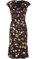 Moschino Cheap & Chic Floral Dress - Lyst