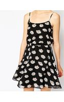 Asos Daisy Print Cami Dress - Lyst