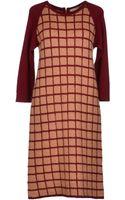 L'Autre Chose Kneelength Dress - Lyst