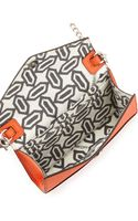 Rebecca Minkoff Mini Spiked Walletonachain Bag Orange - Lyst