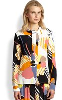 See By Chloé Scarftie Print Blouse - Lyst