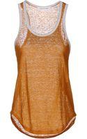 Etoile Isabel Marant Sleeveless T Shirt - Lyst