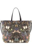 Valentino Patchwork Butterfly Easy Tote Bag Multi - Lyst