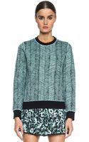 Kenzo Graphic Curtain Sweatshirt - Lyst