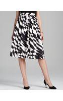Raoul Geometric Print Skirt - Lyst