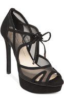 Jessica Simpson Carmita Mesh Platform Dress Sandals - Lyst