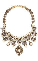 Erickson Beamon Stratosphere Pearl Crystal Necklace - Lyst