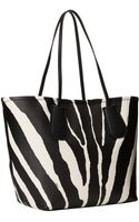 Coach Zebra Embossed Taxi Tote 28 - Lyst