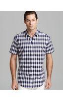 Robert Graham Amica Gingham Dobby Short Sleeve Sport Shirt Classic Fit - Lyst