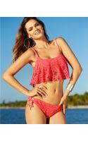 Kenneth Cole Reaction Crochet Sidetie Bikini Bottom - Lyst