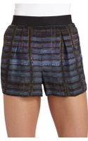 Theyskens' Theory Silk Iding Pung Shorts - Lyst