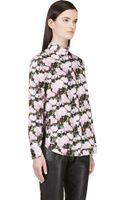 Givenchy Peony Print Blouse - Lyst