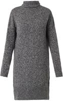 McQ by Alexander McQueen Wool and Cashmereblend Knit Dress - Lyst