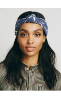Free People Printed Knotted Turban - Lyst