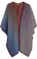 Missoni Reversible Woolblend Wrap - Lyst