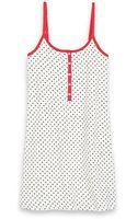 Tommy Hilfiger Button Up Sleep Dress - Lyst