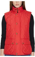 Polo Ralph Lauren Quilted Full-zip Vest - Lyst