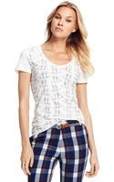 Tommy Hilfiger Sailboat Tee - Lyst
