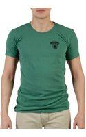 Balmain Tshirt Turchese - Lyst