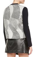 Opening Ceremony Technotronic Jacquard Longsleeve Pullover - Lyst
