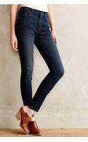 Mother Looker Highwaist Skinny Jeans - Lyst