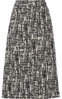 Pedro Del Hierro Madrid Woolblend Bouclé Midi Skirt - Lyst