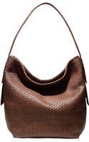 Cole Haan Bethany Leather Large Bucket Hobo Bag - Lyst
