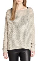Vince Cable-knit Sweater - Lyst